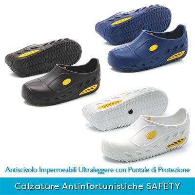 Calzature Professionali Antinfortunistiche con Puntale di Protezione SAFETY