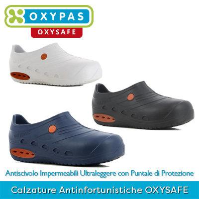 *NEW* Calzature Professionali Antinfortunistiche con Puntale di Protezione OXYSAFE