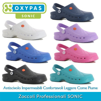 *NEW* Zoccoli Professionali Oxypas SONIC