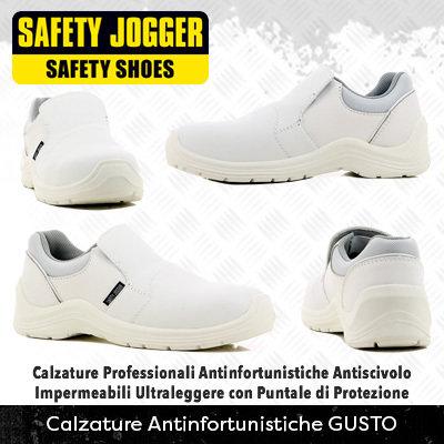 *NEW* Calzature Antinfortunistiche con Puntale di Protezione Safety Jogger GUSTO