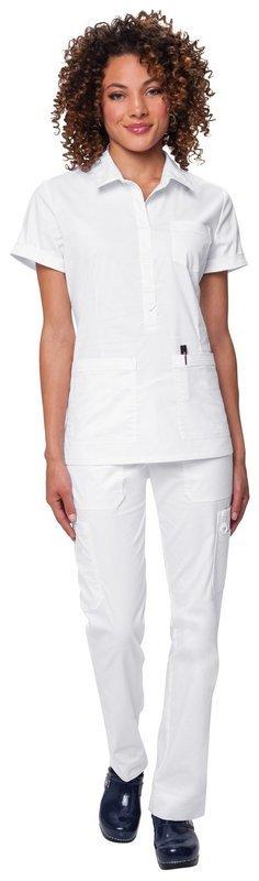 Casacca KOI STRETCH FELICIA Colore 01. White
