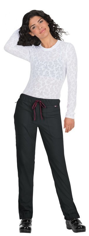 Pantalone KOI LITE HAPPINESS Donna Colore 0283. Black/Neon Pink