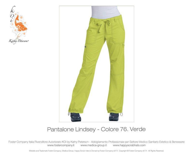 Pantalone KOI CLASSICS LINDSEY Donna Colore 76. Verde - FINE SERIE