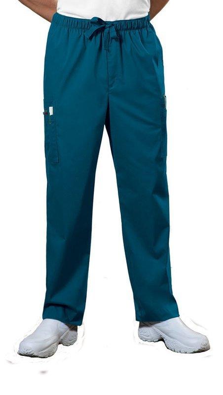 Pantalone CHEROKEE CORE STRETCH 4243 Colore Caribbean Blue