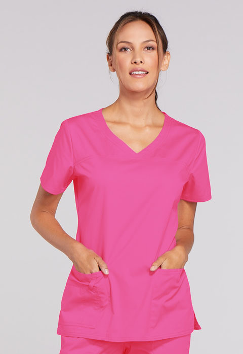 Casacca CHEROKEE CORE STRETCH 4727 Colore Shocking Pink