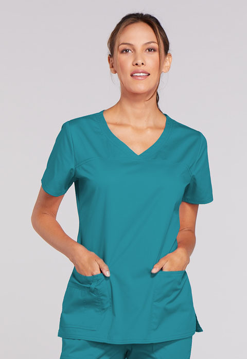 Casacca CHEROKEE CORE STRETCH 4727 Colore Teal Blue