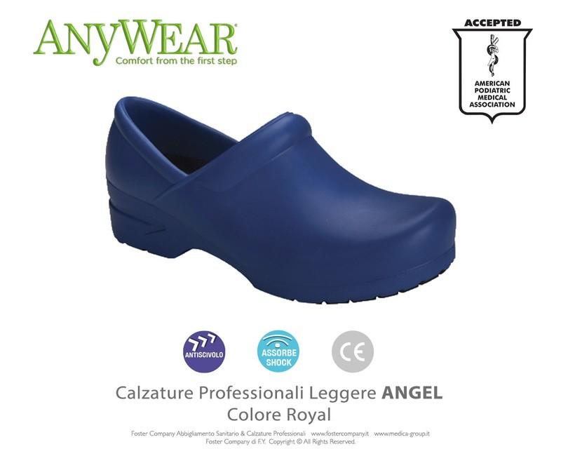 Calzature Professionali Anywear ANGEL Colore Royal