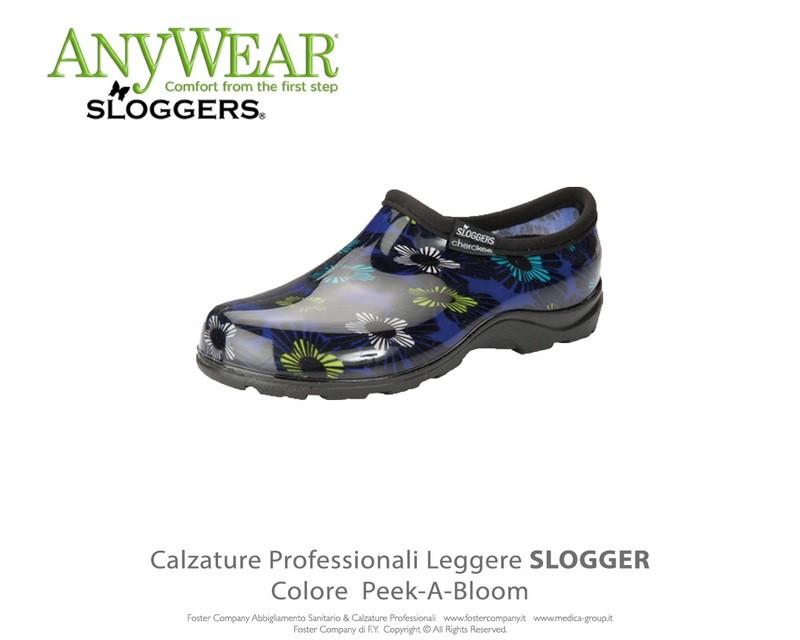 Calzature Professionali Anywear SLOGGER Colore Peek-A-Bloom ULTIMI NUMERI
