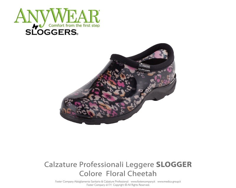 Calzature Professionali Anywear SLOGGER Colore Floral Cheetah ULTIMI NUMERI