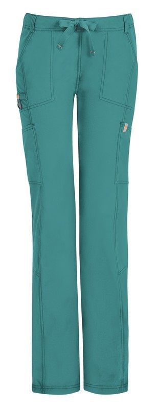 Pantalone Code Happy 46000AB-P Donna Colore Teal - FINE SERIE