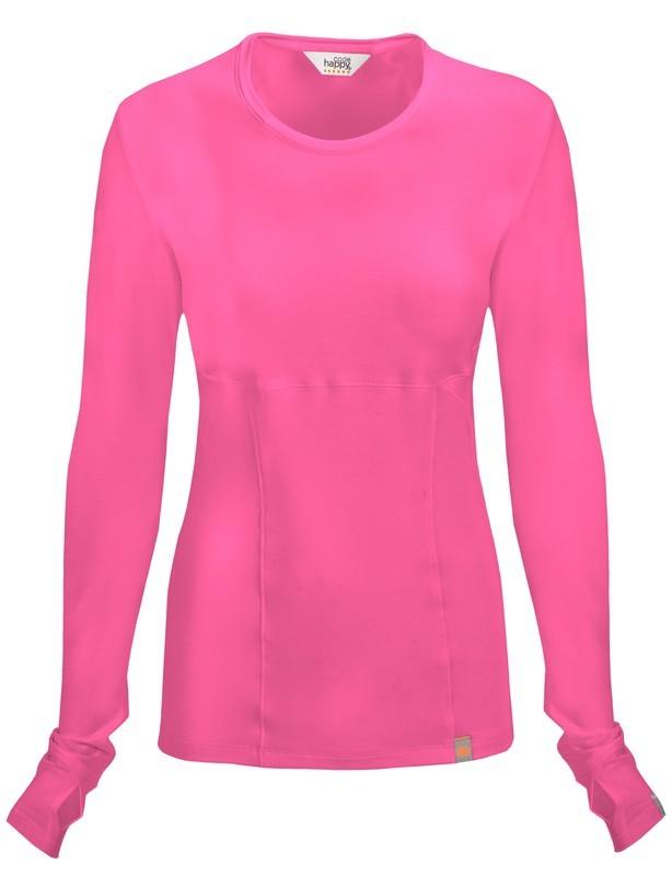 Maglietta Code Happy 46608A Donna Colore Shocking Pink - FINE SERIE