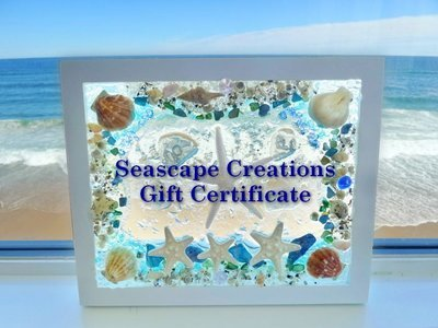 Seascape Creations Workshop Gift Certificate
