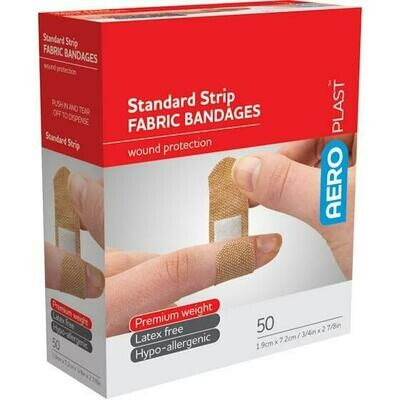 Fabric Premium Strip 72mm x 19mm x 50