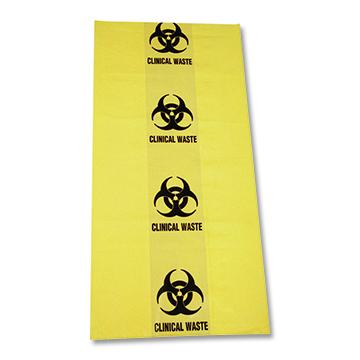 Clinical Waste bag 350*470mm 10ltr 40um
