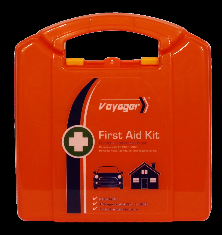 AFAK2P Neat Plastic First Aid Kit Motorist 19*17.5*7cm