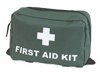 Green First Aid Bag Small