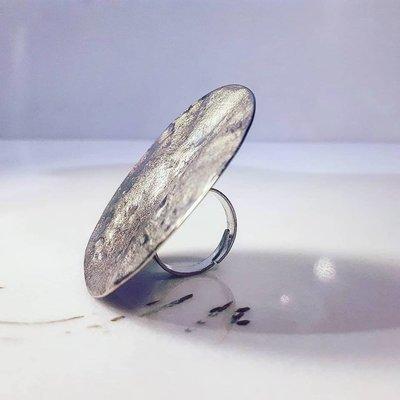 Δαχτυλίδι Μεταλλικό Ασημένιο