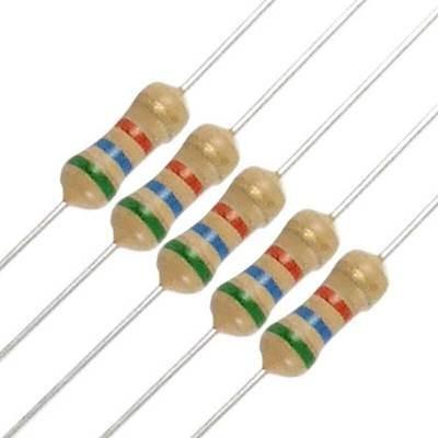 Resistors 1/4 w