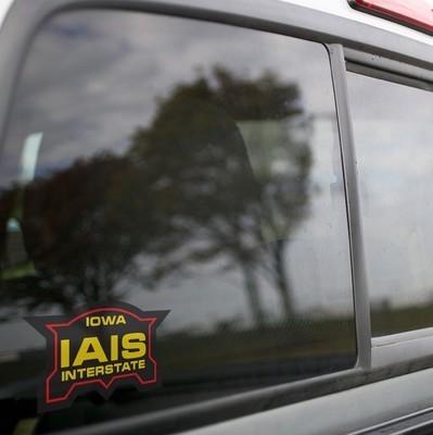 Vinyl Sticker - Iowa Interstate Logo (IAIS)