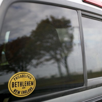 Vinyl Sticker - Philadelphia Bethlehem and New England (PBNE) Logo