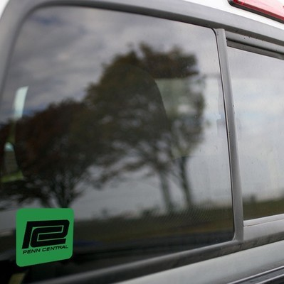 Vinyl Sticker - Penn Central (PC Green/Black) Logo