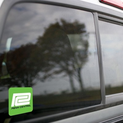 Vinyl Sticker - Penn Central (PC Green/White/Black) Logo
