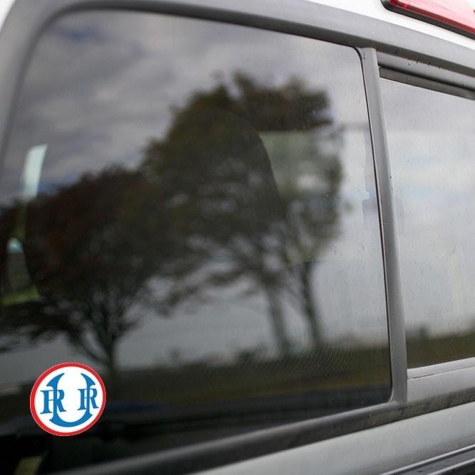 Vinyl Sticker - Union Railroad (URR) Logo (Red/White/Blue)