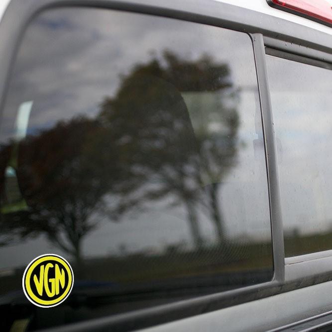 Vinyl Sticker - Virginian Railroad (VGN) Logo (Black/Yellow)