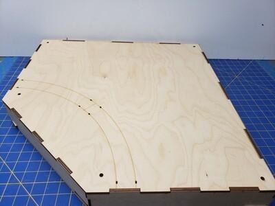 N Scale T-TRAK Inside Turn Module (12/13/16/19r)