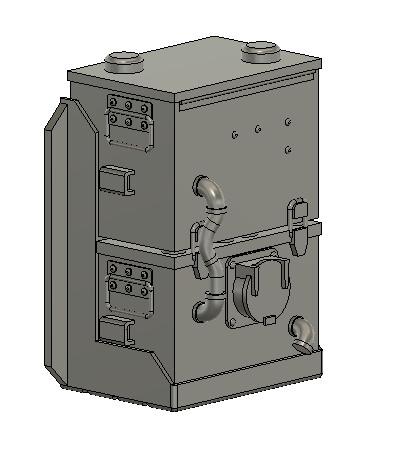 N Scale Detail Parts - Helper Link Detail part (Qty 2)