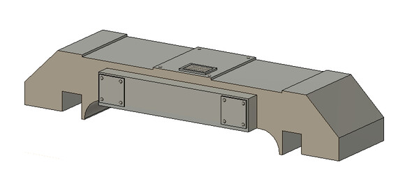 N Scale Train Parts - Horst Air Filter - Angled Short (Qty 2)