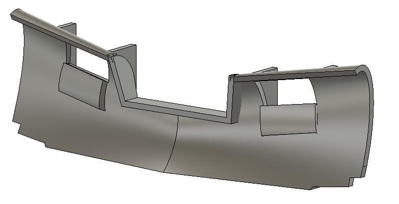 N Scale Train Parts - Generic Snow Plow B (Qty 2)