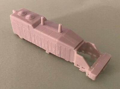 N Scale - UP SW10 Locomotive Shell