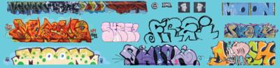 Modern Large Graffiti Set 3