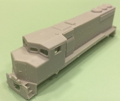 N Scale Trains, GP40-2 W Locomotive Shell, by CMR Products