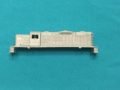 N Scale Trains, RS3M MKT w/ DB (GP9 Phase 3) Locomotive Shell, by CMR Products
