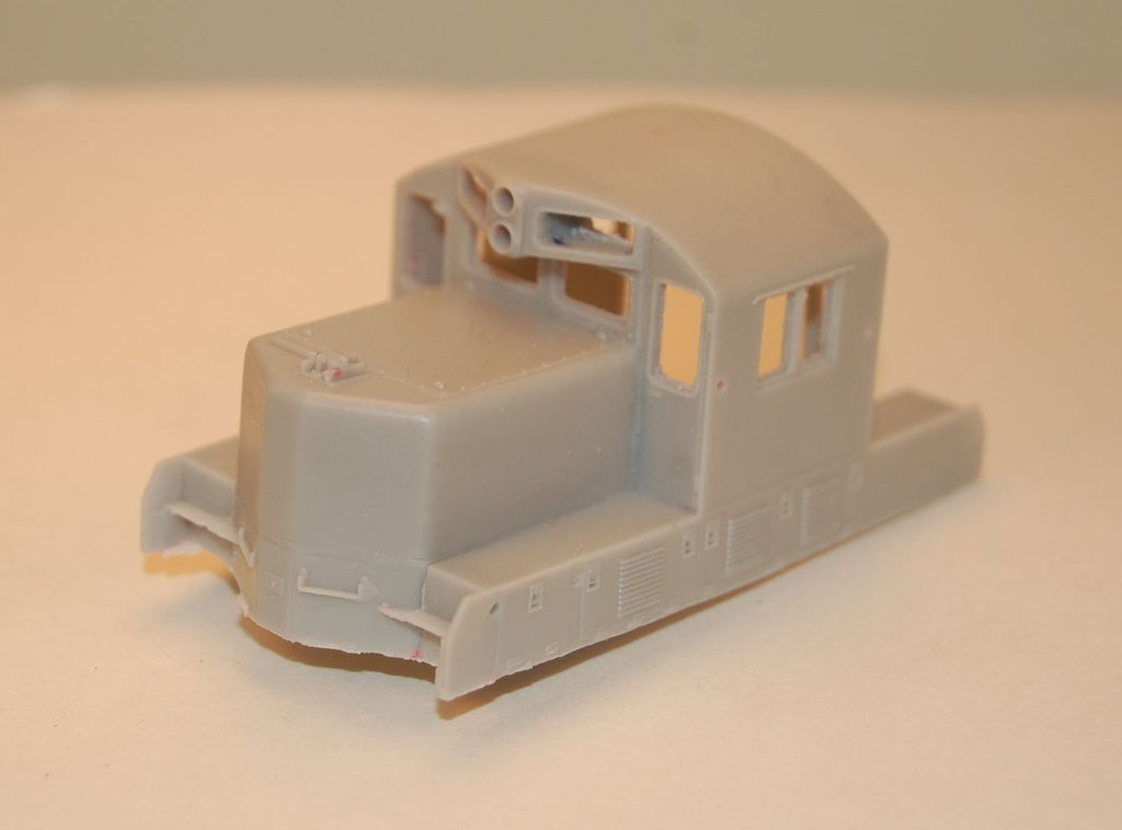 GP7/9 Chop Nose Cab Section, HO Scale Trains