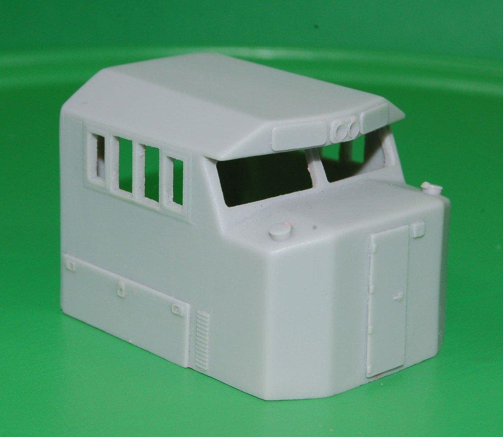 NS SD60E Engine Cab, HO Scale Trains