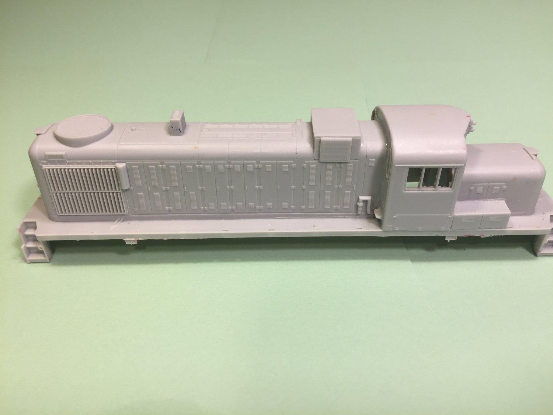 RS3M/RS3U Chop Nose, Delaware Hudson Version, HO Scale Trains by Puttman Locomotive Works