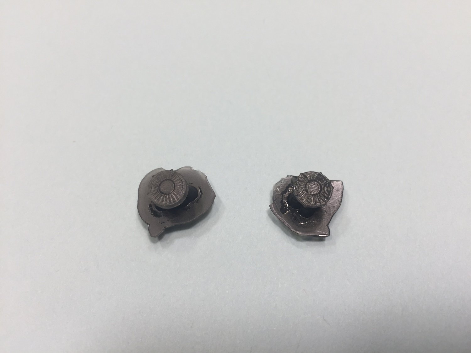"""N Scale Detail Part - Intake Fans - 36"""" EMD Domed (QTY 2)"""