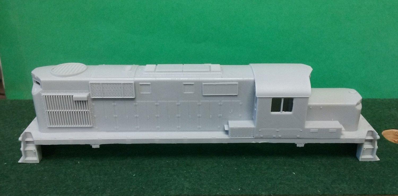 Alco RS11 Chop Nose Locomotive Shell, HO Scale Trains