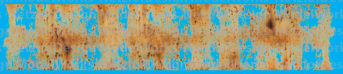 N Scale - Patchy Rust Weathering Decal Set 1