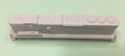 N Scale Trains, SD24 B Unit Locomotive Shell, by CMR Products