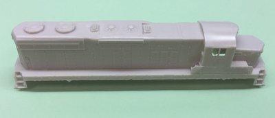 N Scale - SD18 Chop Nose w/ DB Locomotive Shell