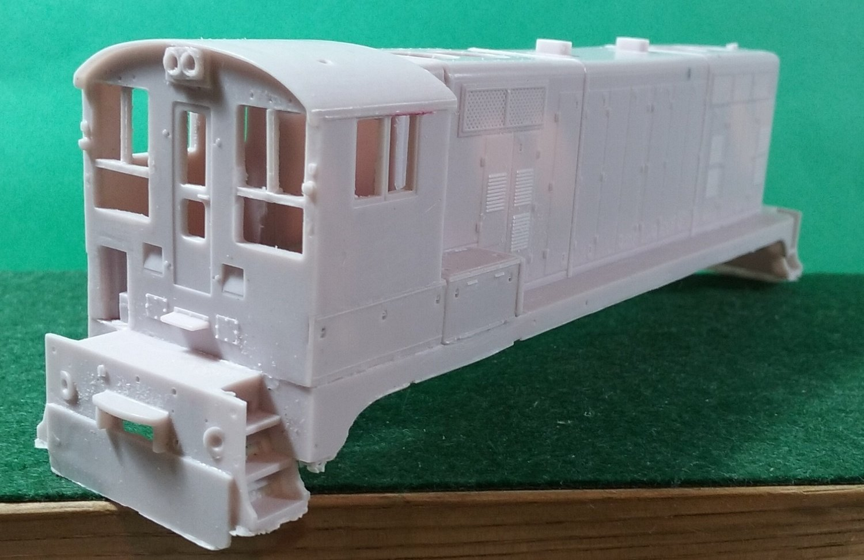 "HO Scale Santa Fe SWBLW ""Beep"" Locomotive Shell (ATSF)"