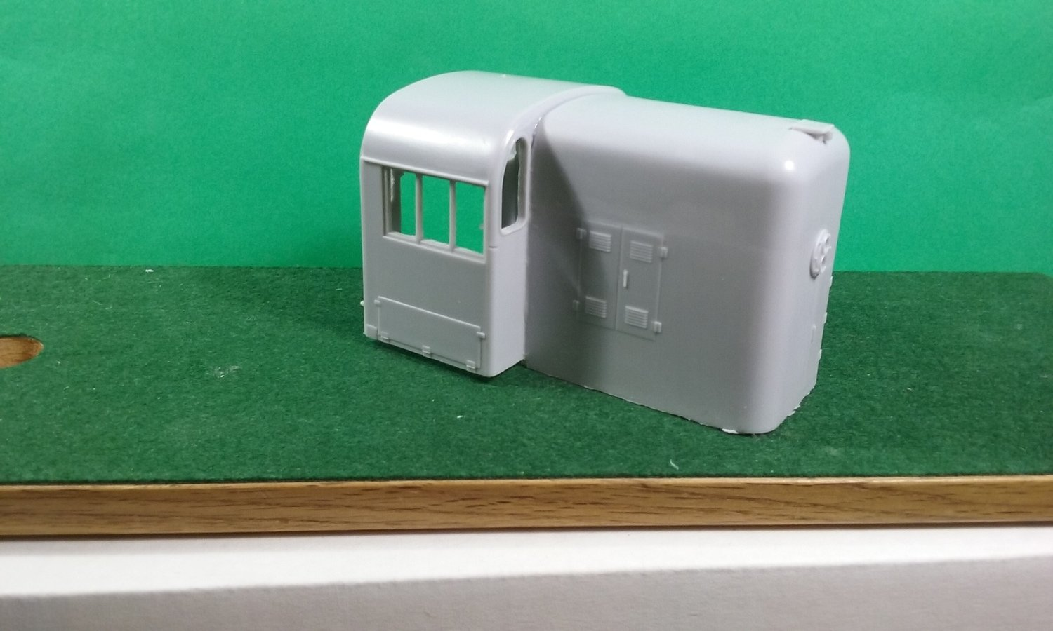 O Scale RS3 Hammerhead Cab Conversion