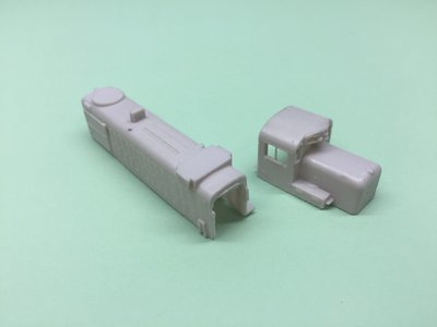 N Scale RS3M/RS3U Chop Nose, Delaware Hudson Version Kit