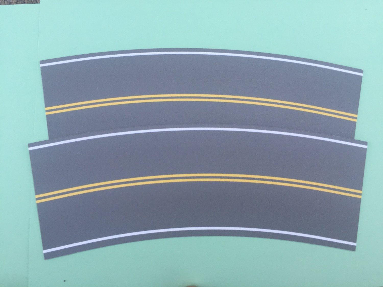 Easy Streets O - Medium Asphalt-Broad Curve No Passing