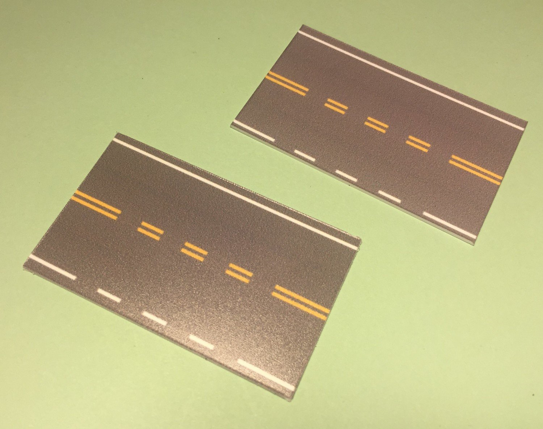 Easy Streets HO - Medium Asphalt-Single Intersection