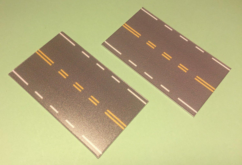 Easy Streets N - Medium Asphalt-Double Intersection